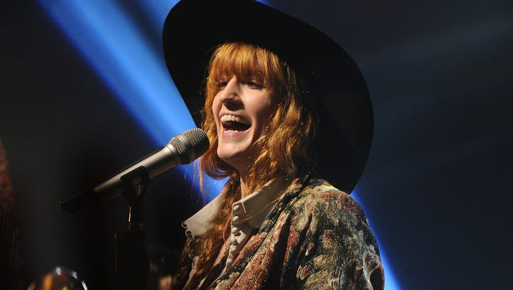 Florence Welch of Florence + the Machine performs on