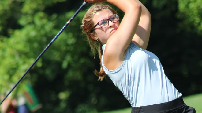 Mackenzie Wood of Southeast finished second at the 2020 season-opening Pirate Invitational, held Wednesday at Olde Dutch Mill Golf Course in Lake Milton.