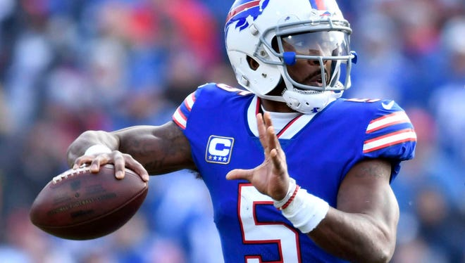 Bills QB Tyrod Taylor is expected to be a game-time decision for Sunday's tilt with the Colts.