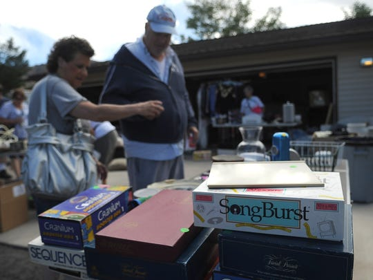 Games and other collectibles will be for sale at the Hidden Valley Garage Sale on Aug. 16.