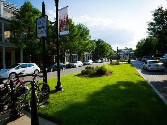A view of Smyrna, Georgia, where the city has transformed