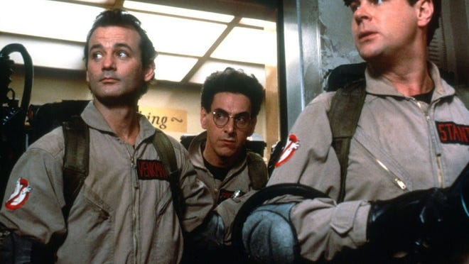 """Outdoor Movie Night's screening of """"Ghostbusters"""" will take place on Saturday, Oct. 17, at 6:30 p.m. with a rain date of Friday, Oct. 23, at 6:30 p.m."""
