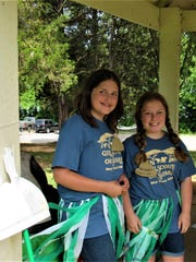 Kayti and Katelyn are both 12-year-old junior counselors