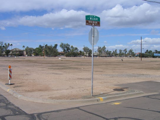 Site 17 is a vacant lot in downtown Mesa that residents