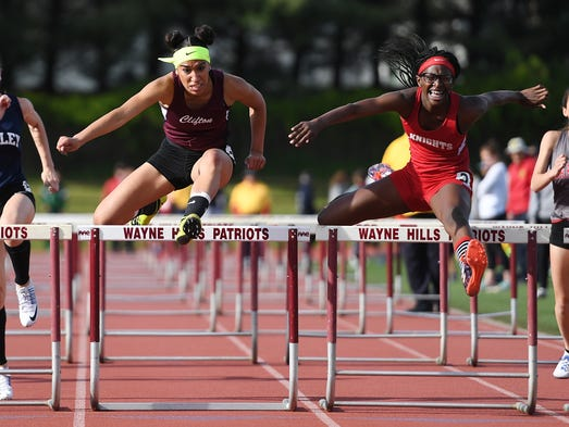 Second day of Passaic County Track championships at