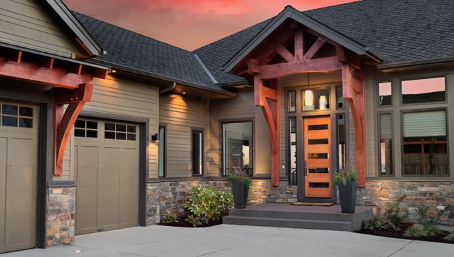 A new garage door and front entrance can be a great return on investment.