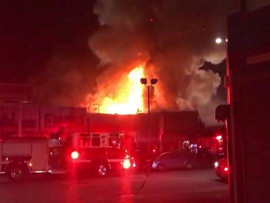 EPA USA FIRE OAKLAND CALIFORNIA DIS FIRE USA CA