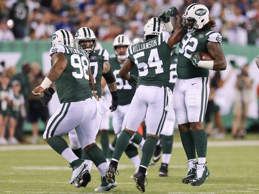 NFL: New York Giants at New York Jets