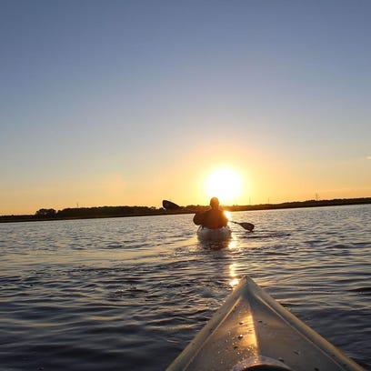 Time Lapse: Big Muskego Lake Kayak