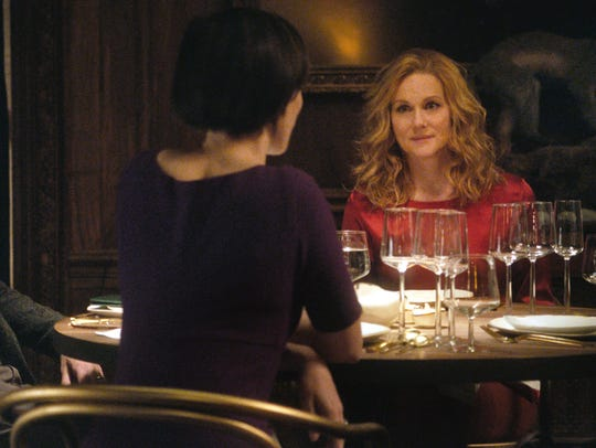 Katelyn (Rebecca Hall, left) and Claire (Laura Linney)