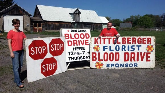 You've seen these signs all over town. Now take an hour out of your day and donate!