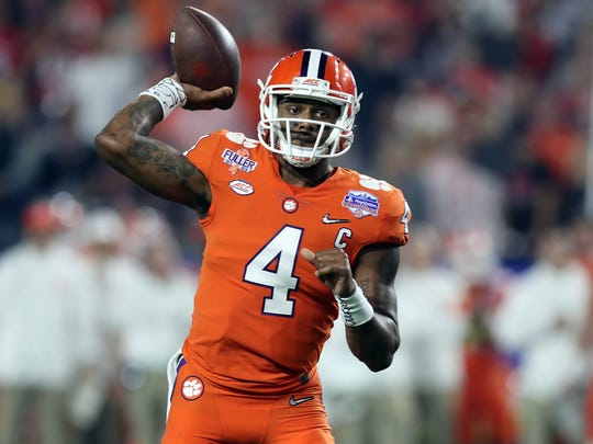 Ex-Bills GM Bill Polian said DeShaun Watson has a long way to go, but he has a chance, in time, to transition from spread offense college QB to NFL starter.