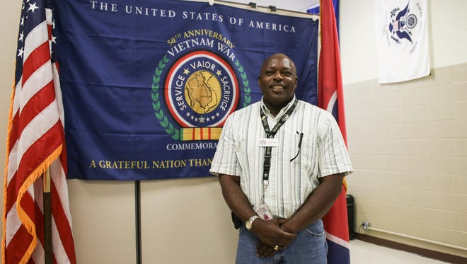 Willie Celestine has served as an outreach specialist with Clarksville's Operation Stand Down since the office opened in January 2015.