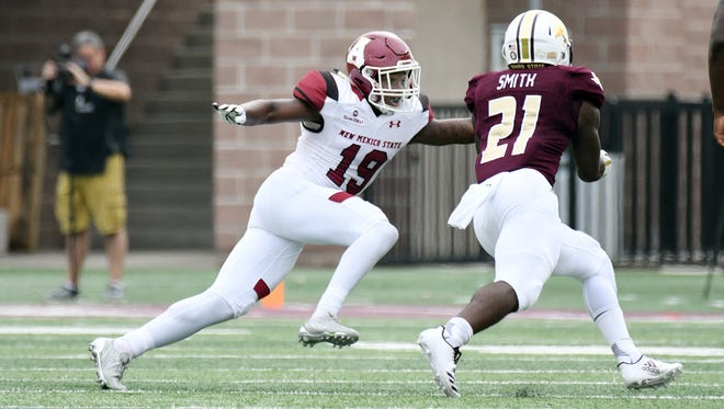 The New Mexico State football team is open this week. The Aggies are two wins shy reaching bowl eligibility