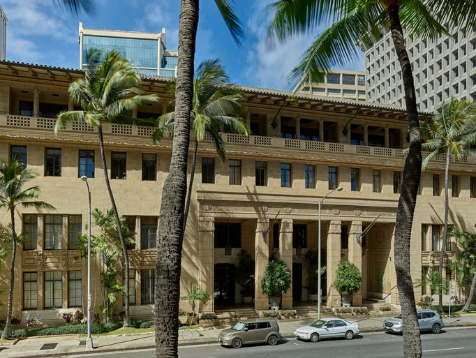 Built in 1929, the Alexander and Baldwin Building in
