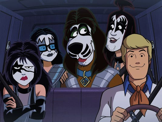 Kiss Scooby