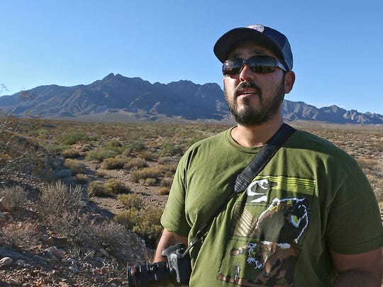 David Lamfrom director of the California desert program of the National Parks Conservation Assoication is opposed to Cadiz' plan to pump water from an aquifer in the Mojave Desert.