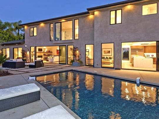 NBA star Russell Westbrook bought the contemporary-style home from reality TV personality Scott Disick in a deal that closed off-market. Designed for indoor-outdoor entertaining, the 4,095-square-foot house has walls of glass doors and windows, a saltwater swimming pool as well as city and ocean views. (Everett Fenton Gidley/TNS)