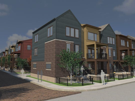 Milhaus Development LLC is investing big in for-sale housing, including its Park 10 project in Indianapolis' Chatham Arch neighborhood.