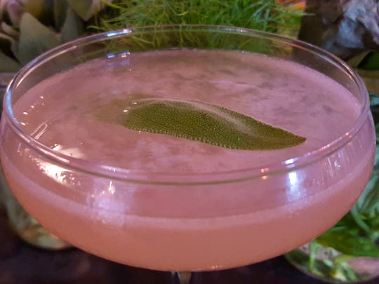 The Sage Dove at Proof features tequila, sage, grapefruit,