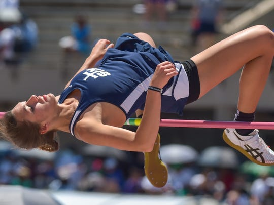 Payton Phares- St Thomas More. The LHSAA Track and Field State Meet at LSU Bernie Moore Stadium.