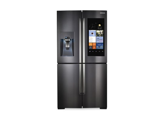 "A newer innovation in refrigerators is to have a ""connected"""