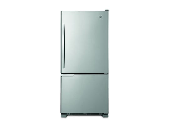 Refrigerators with the freezer on the bottom lift the