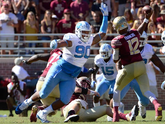 Nazair Jones University of North Carolina has overcome