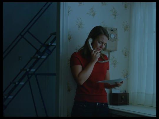 "Aspen Rader in a scene from ""Casting JonBeneŽt."""