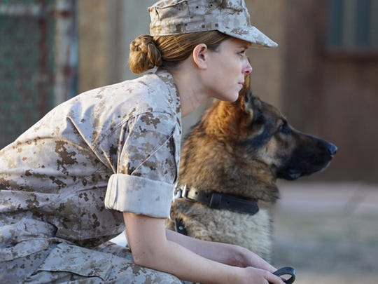 """Kate Mara plays an Iraq War soldier who bonds with an aggressive K-9 unit recruit in """"Megan Leavey."""""""