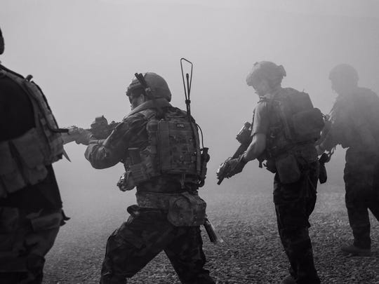 U.S. Army special operation forces in Kabul province in Afghanistan. (Connor Mendez/Defense Department/TNS)