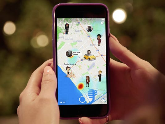 Snapchat now allows exact location sharing. Should you freak out?