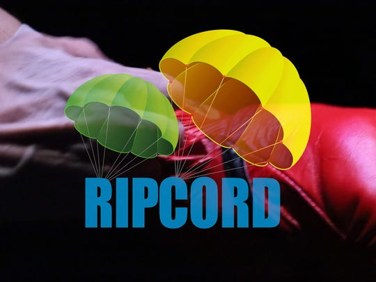 "A promotional image for The Naples Players' ""Ripchord."""