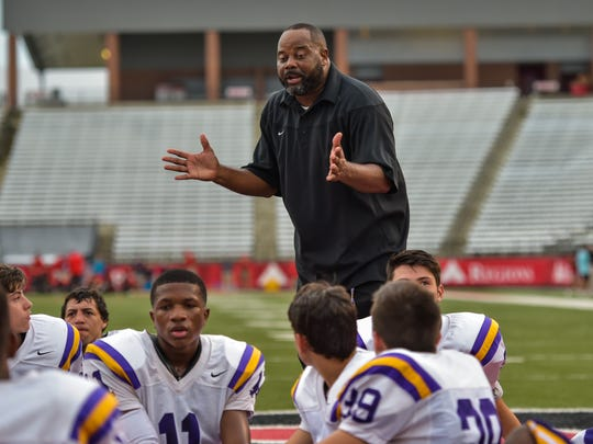 St. Martinville head coach Vincent DeRouen will be returning to his former home at Northside High on Friday.