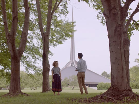 """Haley Lu Richardson and John Cho explore the central Indiana landscape, along with their emotional states, in """"Columbus."""""""