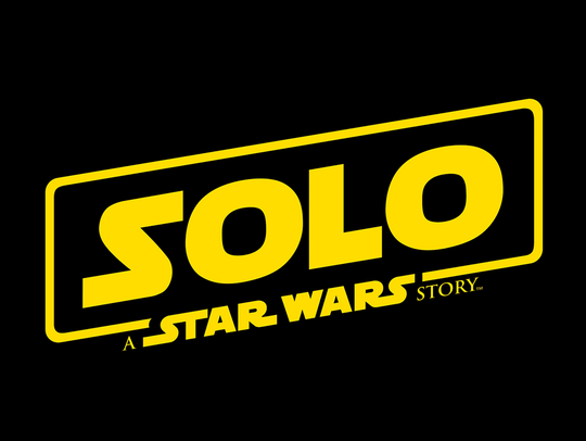 The retro logo of 'Solo: A Star Wars Story' harks back