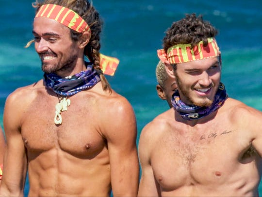 "Sebastian Noel and Michael Yerger on ""Survivor: Ghost Island."""