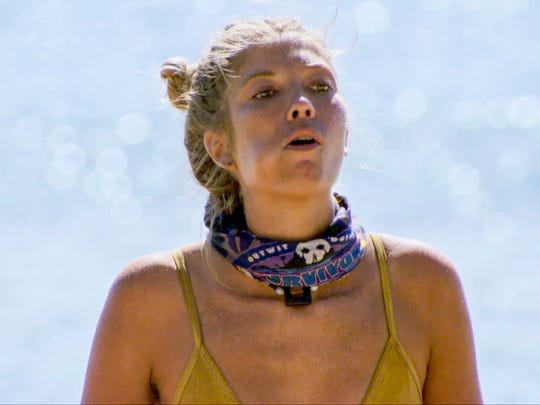 Jenna Bowman on the ninth episode of Survivor: Ghost
