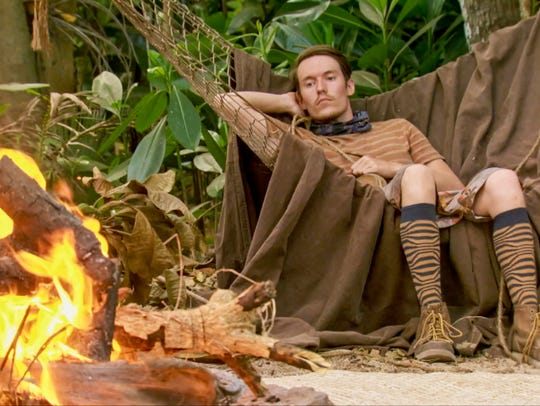 Donathan Hurley on the eleventh episode of Survivor: