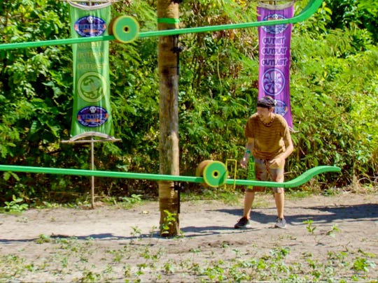Donathan Hurley on the thirteenth episode of Survivor: