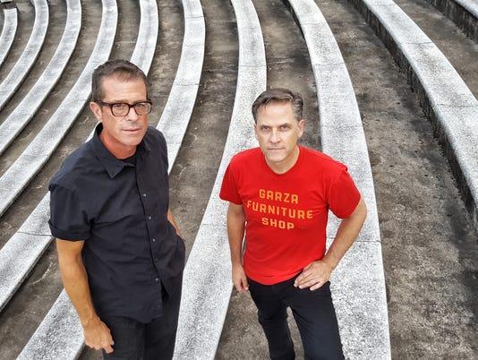 Calexico founders John Convertino and Joey Burns
