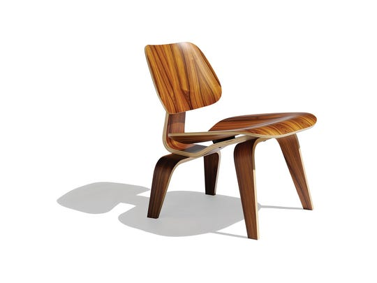 The beloved Eames lounge chair takes a warmer turn in molded plywood, offering a place at the table that will make your best guest linger. $970, hivemodern.com  (Hive Modern)