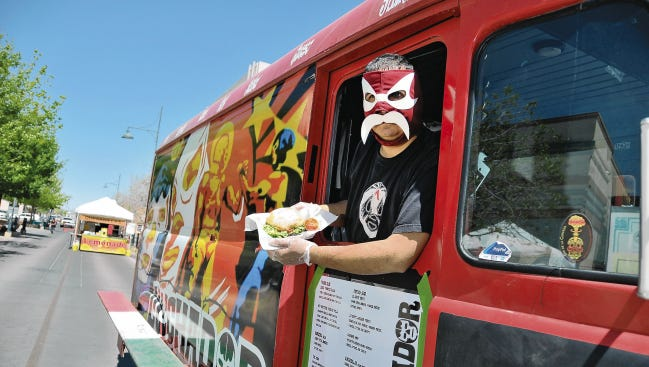 The food truck Luchador has won the Burger Dome grill-off in Las Cruces in 2016 and 2017.