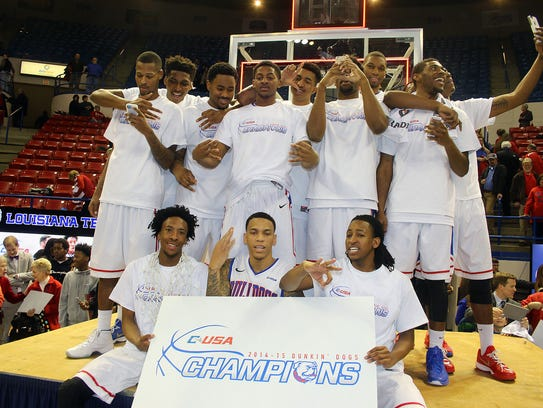 Louisiana Tech won its first outright hoops title since