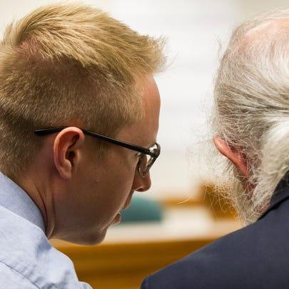 Benjamin Craig Tweedt talks with Defense Attorney Phil