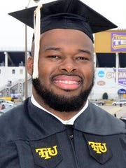 NFL veteran Frank Omiyale returned to Tennessee Tech to earn his degree.