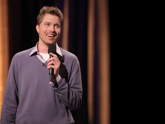 "Shane Mauss is making a stop on his ""Good Trip"" tour"