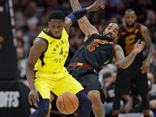 a3a2fd20aeaf Cavs vs. Pacers live  Follow along Game 2 of the NBA Playoffs 2018