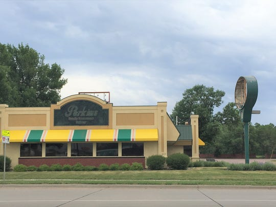 The former Perkins Restaurant & Bakery at 5304 N. Cliff Ave. in Sioux Falls con June 7. The restaurant closed this week.