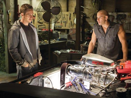 Paul Walker and Vin Diesel, seen here in 'Fast & Furious,'